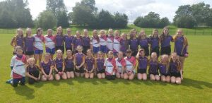 U12 Girls Take On Carryduff