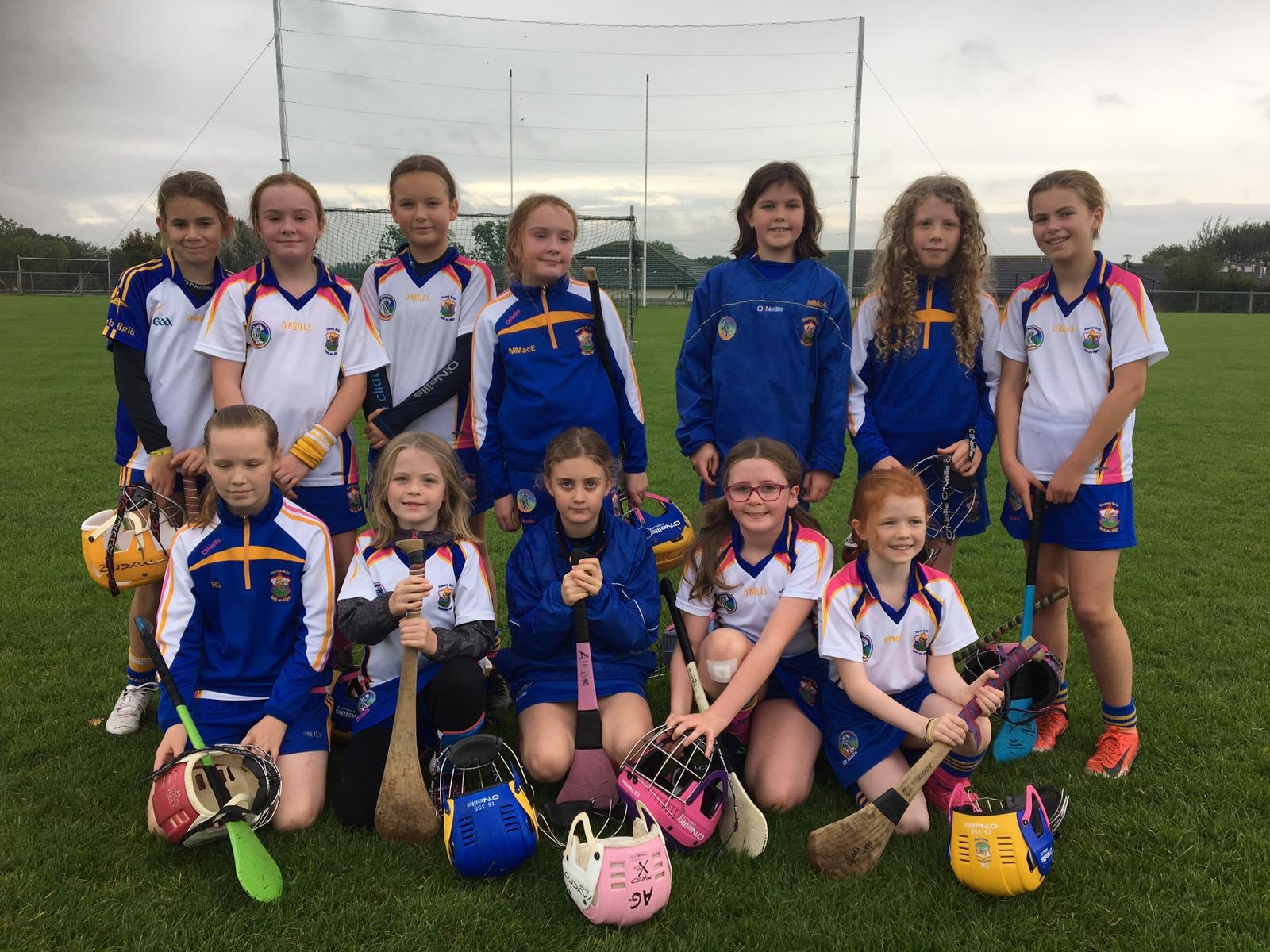 Camogs In Action In Glenavy