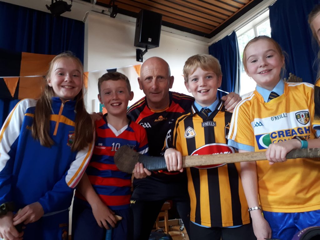 Kilkenny Legend Fogarty Schools Young And Old!