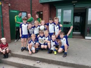 U8 Hurlers/P4 And P5 Footballers Enjoy Success