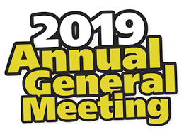 NOTICE OF ANNUAL GENERAL MEETING 2019: Sunday 24th November