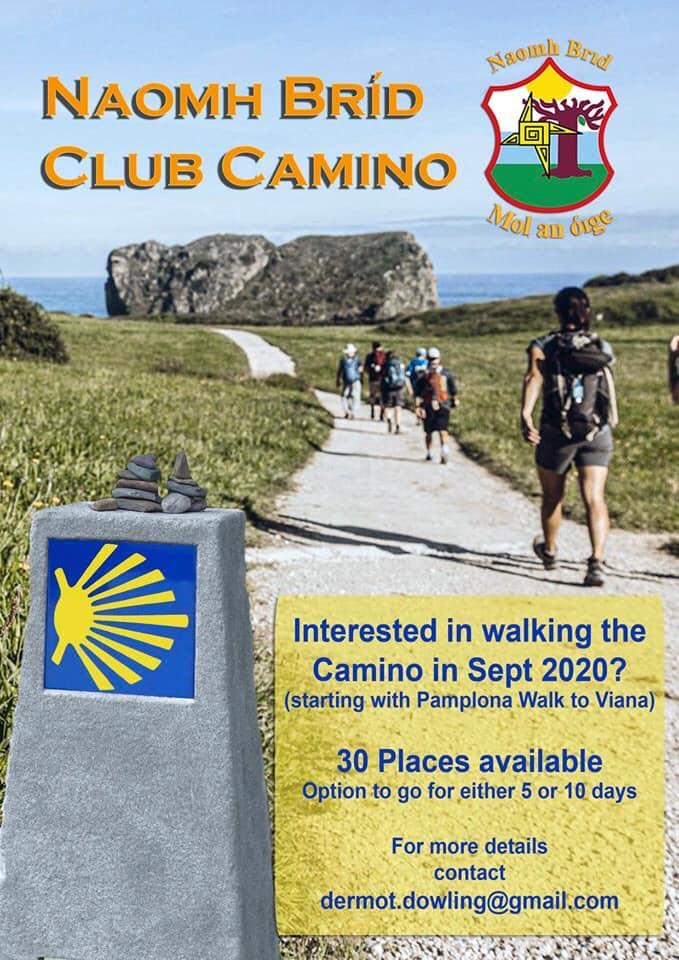 Interested In Doing The St Brigid's Club Camino?