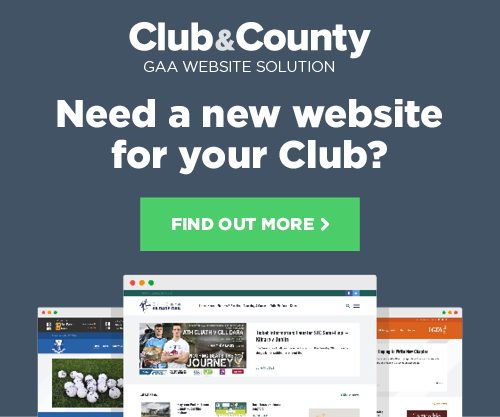 Club and County - Need a new website for your club?