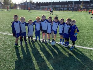 U6 Boys Enjoy Go Games Blitz