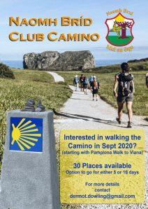 Camino walk – planning meeting